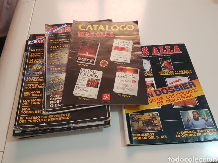 LOTE 8 REVISTAS MAS ALLA DE LA CIENCIA (Coleccionismo - Revistas y Periódicos Modernos (a partir de 1.940) - Revista Más Allá)