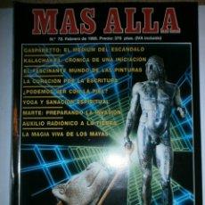 Coleccionismo de Revista Más Allá: REVISTA MAS ALLA Nº 72 DE 1995. Lote 176648665
