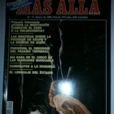 Coleccionismo de Revista Más Allá: REVISTA MAS ALLA Nº 71 DE 1995. Lote 176648689