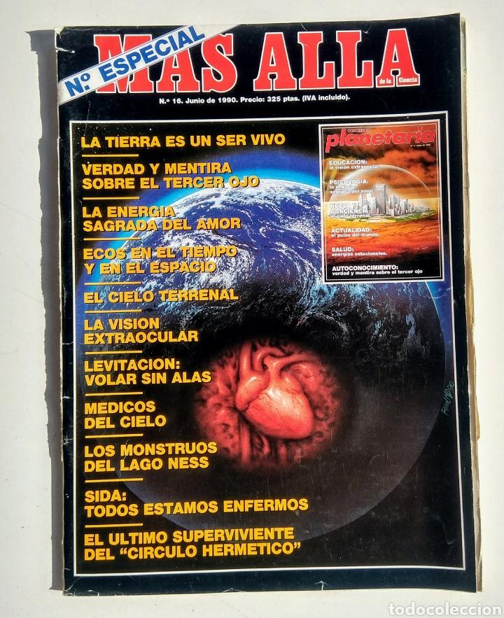 Coleccionismo de Revista Más Allá: Lote de 5 Revistas. Más Allá. Año 1990. - Foto 2 - 176998630