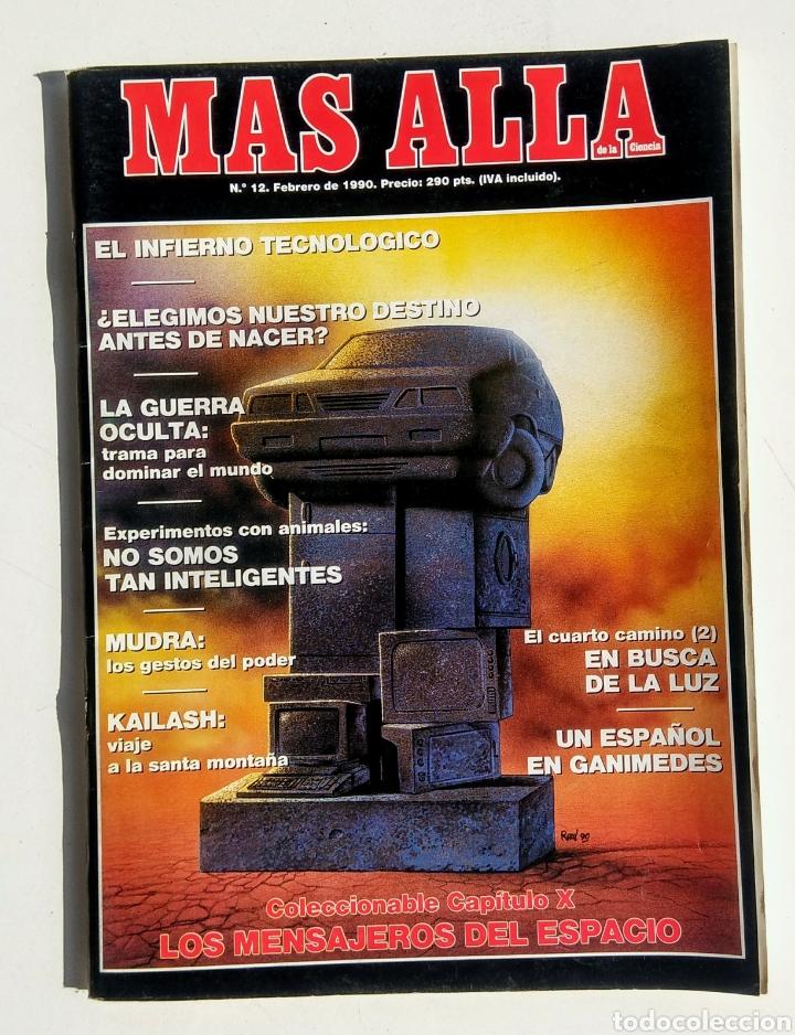 Coleccionismo de Revista Más Allá: Lote de 5 Revistas. Más Allá. Año 1990. - Foto 3 - 176998630
