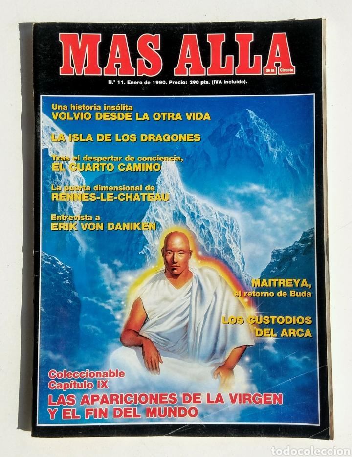 Coleccionismo de Revista Más Allá: Lote de 5 Revistas. Más Allá. Año 1990. - Foto 5 - 176998630