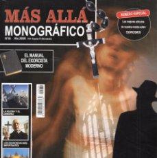 Coleccionismo de Revista Más Allá: MAS ALLA MONOGRAFICO N. 84 - TEMA: EXORCISMOS (NUEVA). Lote 177586867