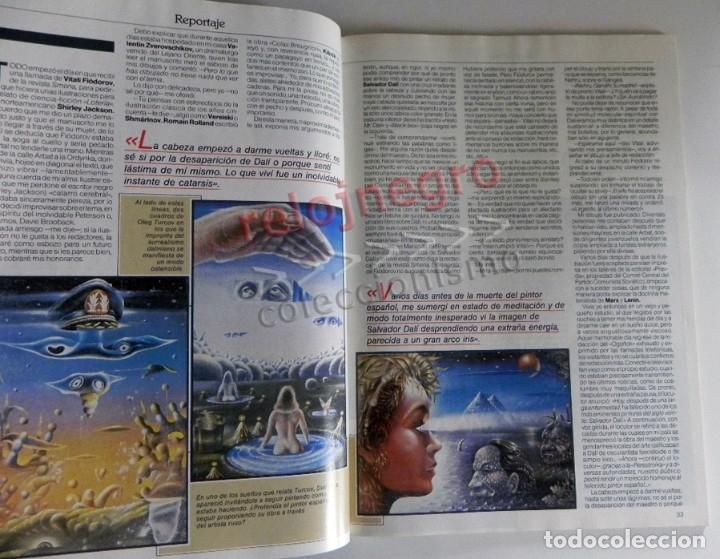 Coleccionismo de Revista Más Allá: REVISTA MÁS ALLÁ 23 AÑO 1991 MISTERIO ESOTERISMO SUEÑO HIPNOTISMO DALÍ HELIO ZENDAEL PETROGLIFOS ETC - Foto 6 - 179056711