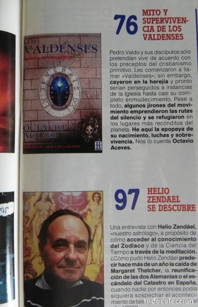 Coleccionismo de Revista Más Allá: REVISTA MÁS ALLÁ 23 AÑO 1991 MISTERIO ESOTERISMO SUEÑO HIPNOTISMO DALÍ HELIO ZENDAEL PETROGLIFOS ETC - Foto 3 - 179056711