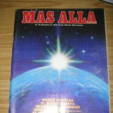 Coleccionismo de Revista Más Allá: REVISTA MÁS ALLÁ Nº 10 (DICIEMBRE, 1989) PARAPSICOLOGÍA - CIENCIAS OCULTAS. Lote 180892621