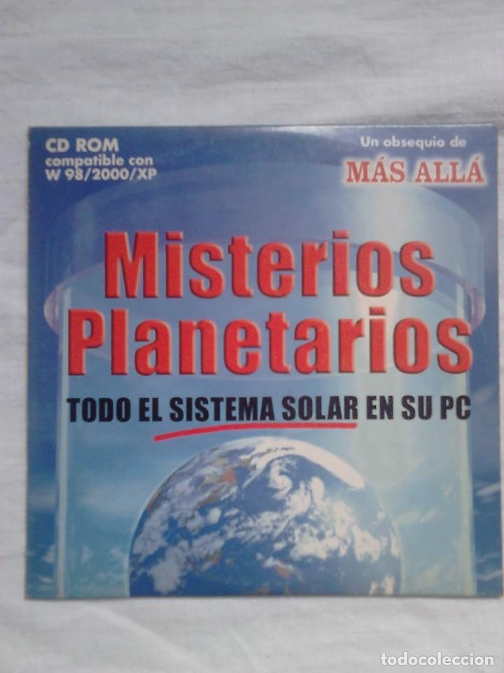 MISTERIOS PLANETARIOS CD ROM REVISTA MÁS ALLÁ / ASTRONOMÍA (Coleccionismo - Revistas y Periódicos Modernos (a partir de 1.940) - Revista Más Allá)