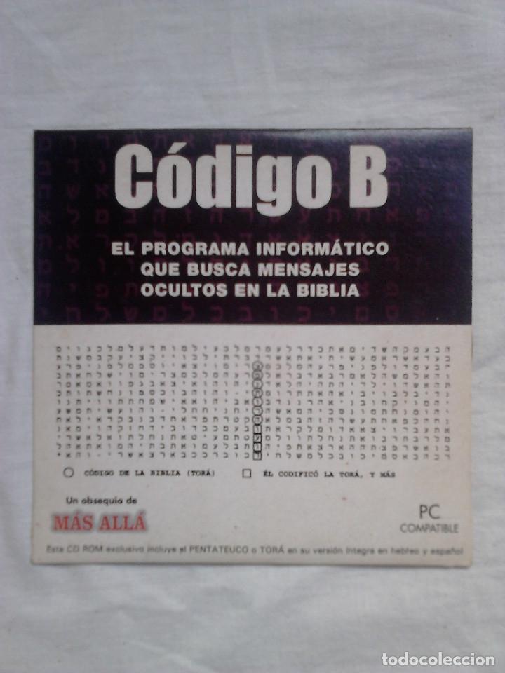 CD ROM - CÓDIGO B - DESCUBRA MENSAJES OCULTOS - MÁS ALLÁ (2003) / BIBLIA / (Coleccionismo - Revistas y Periódicos Modernos (a partir de 1.940) - Revista Más Allá)