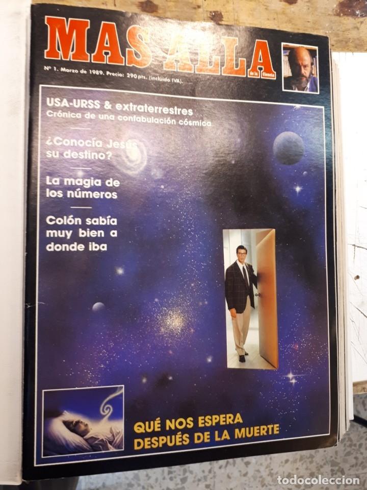 Coleccionismo de Revista Más Allá: Dos tomos Más Allá, 20 revistas - Foto 2 - 182838902