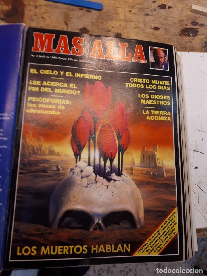 Coleccionismo de Revista Más Allá: Dos tomos Más Allá, 20 revistas - Foto 3 - 182838902