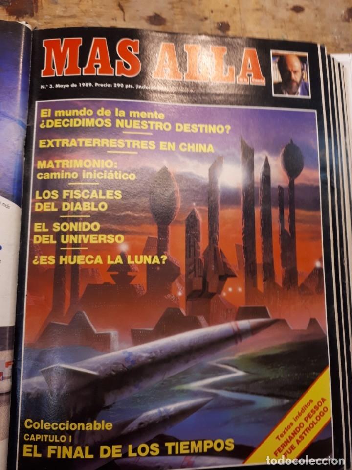 Coleccionismo de Revista Más Allá: Dos tomos Más Allá, 20 revistas - Foto 4 - 182838902