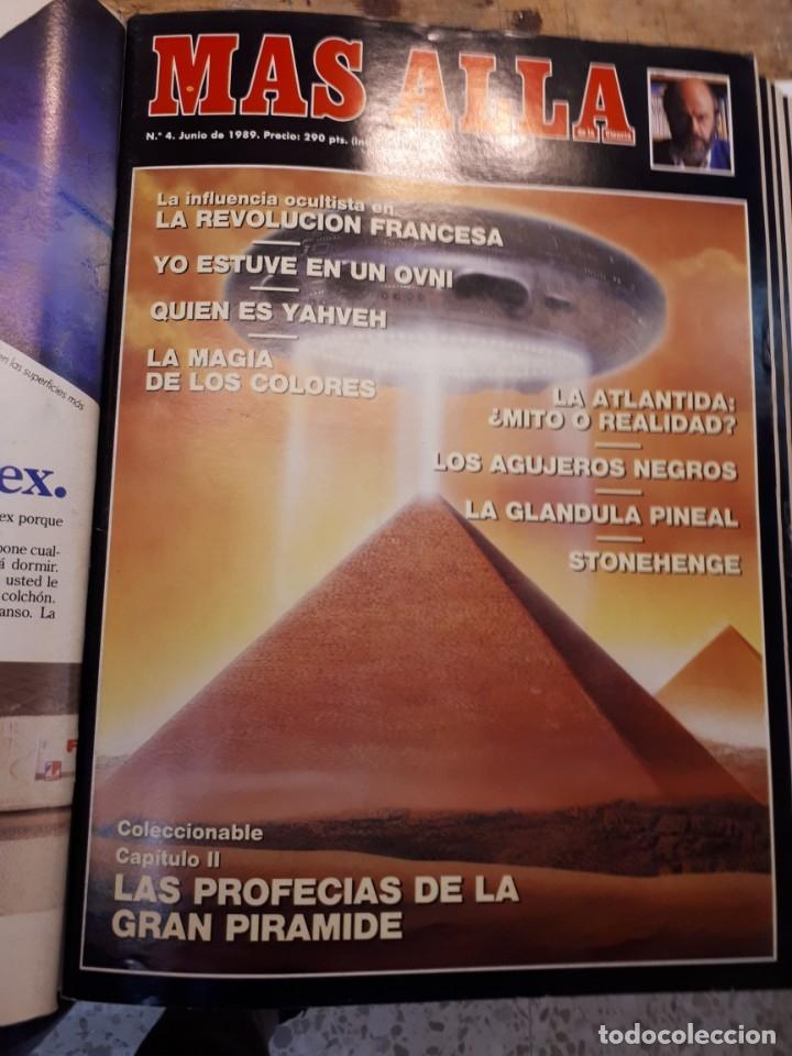 Coleccionismo de Revista Más Allá: Dos tomos Más Allá, 20 revistas - Foto 5 - 182838902