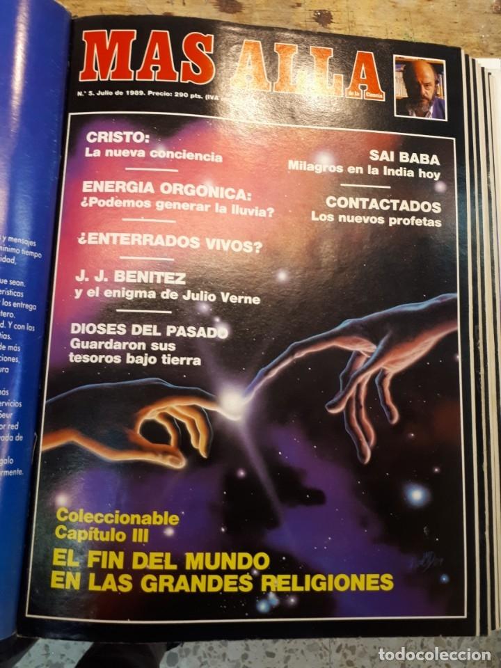 Coleccionismo de Revista Más Allá: Dos tomos Más Allá, 20 revistas - Foto 6 - 182838902