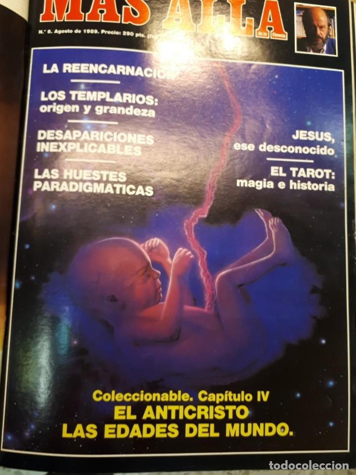 Coleccionismo de Revista Más Allá: Dos tomos Más Allá, 20 revistas - Foto 7 - 182838902
