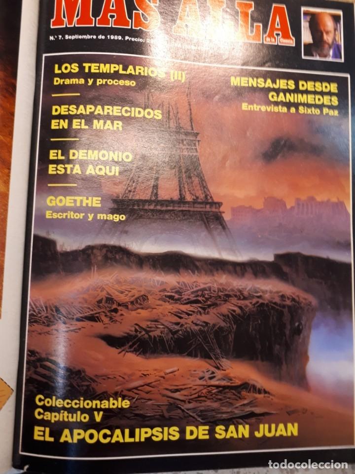 Coleccionismo de Revista Más Allá: Dos tomos Más Allá, 20 revistas - Foto 8 - 182838902