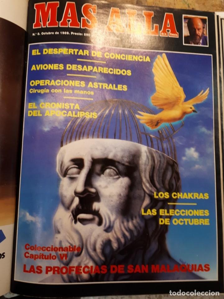 Coleccionismo de Revista Más Allá: Dos tomos Más Allá, 20 revistas - Foto 10 - 182838902