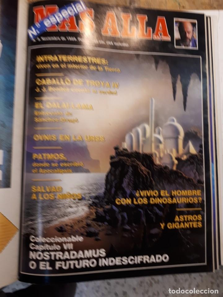 Coleccionismo de Revista Más Allá: Dos tomos Más Allá, 20 revistas - Foto 11 - 182838902