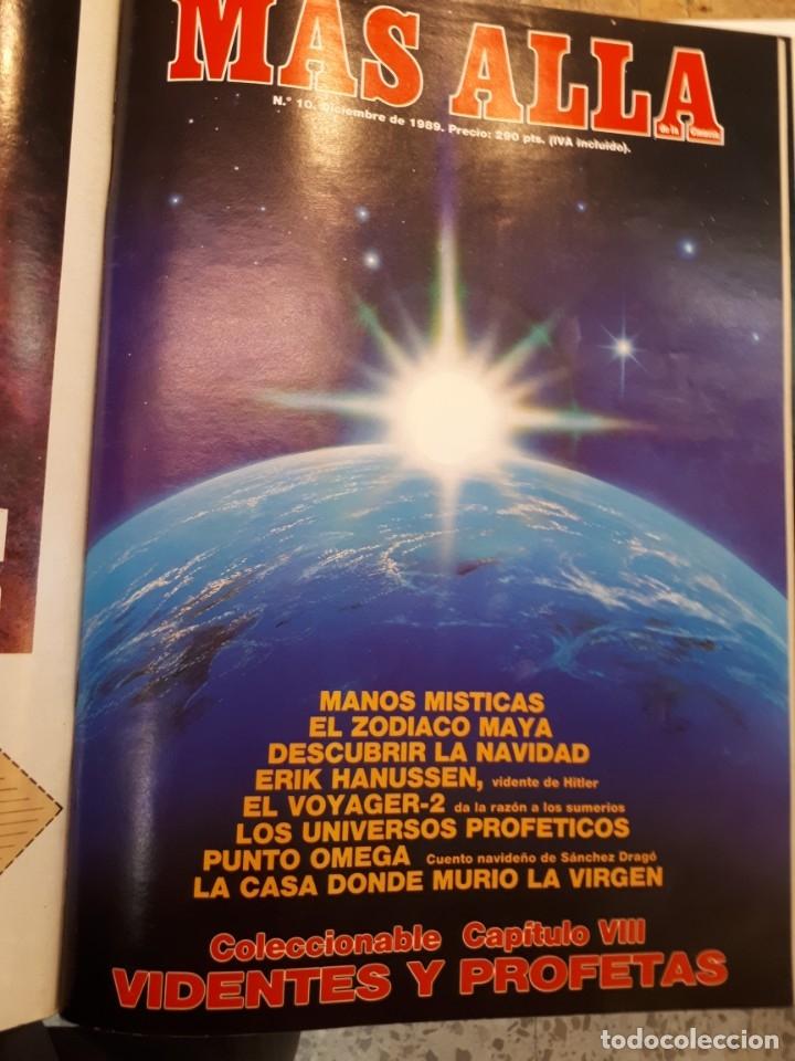 Coleccionismo de Revista Más Allá: Dos tomos Más Allá, 20 revistas - Foto 12 - 182838902