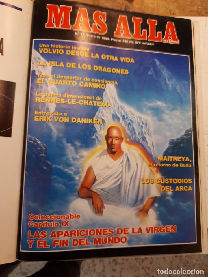 Coleccionismo de Revista Más Allá: Dos tomos Más Allá, 20 revistas - Foto 13 - 182838902