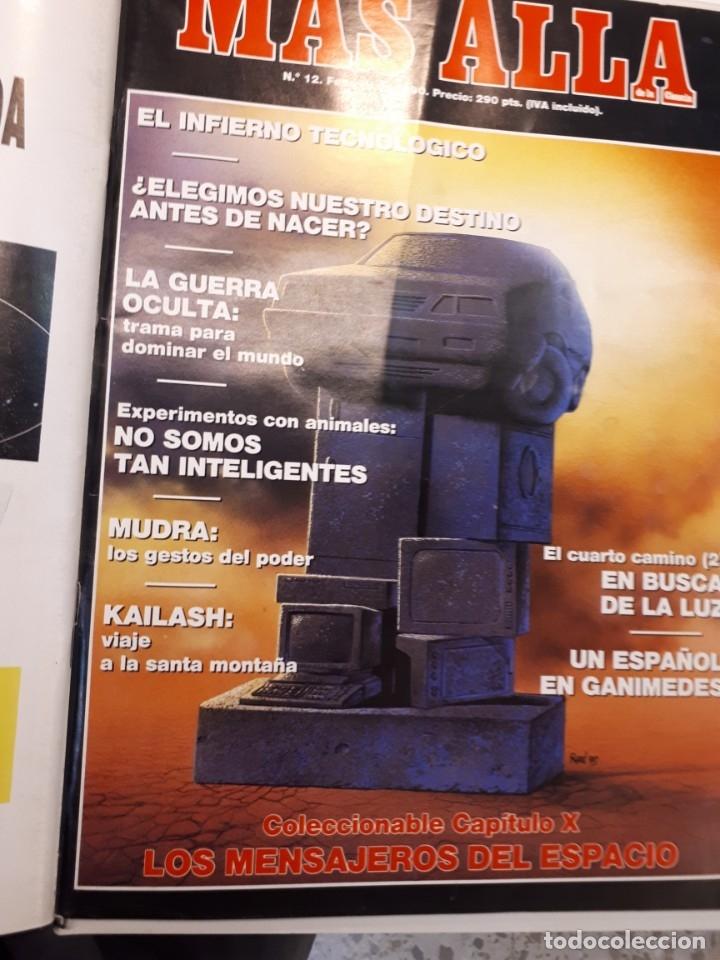 Coleccionismo de Revista Más Allá: Dos tomos Más Allá, 20 revistas - Foto 14 - 182838902