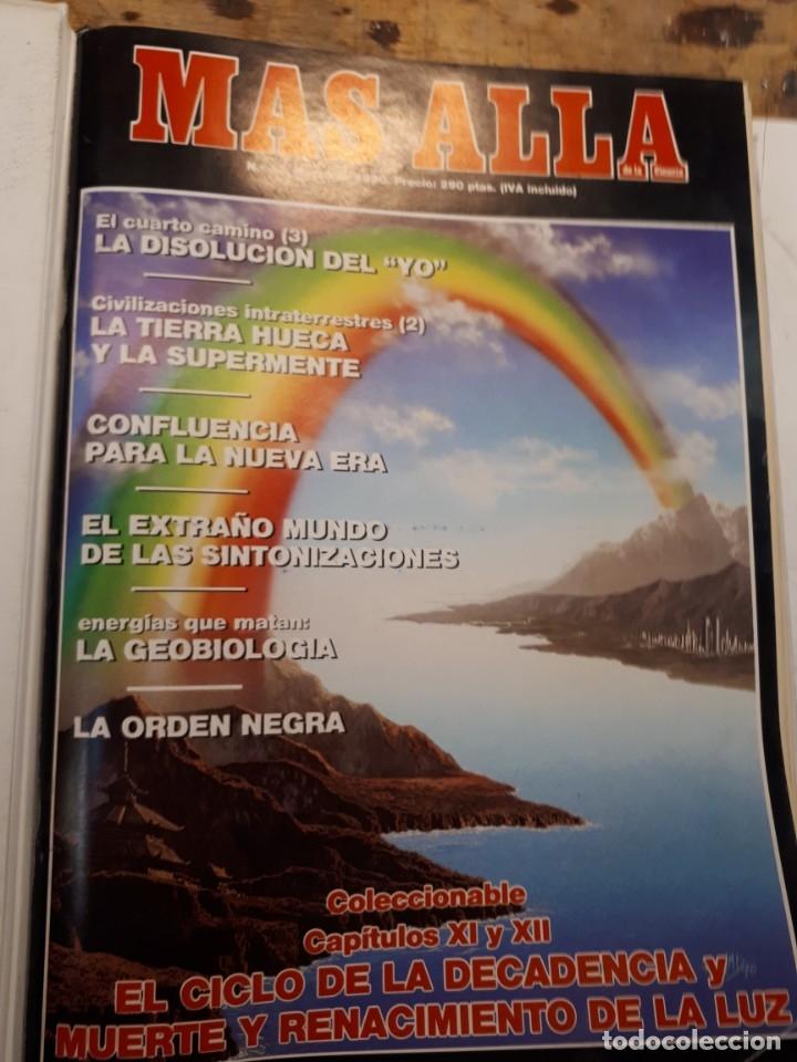 Coleccionismo de Revista Más Allá: Dos tomos Más Allá, 20 revistas - Foto 15 - 182838902