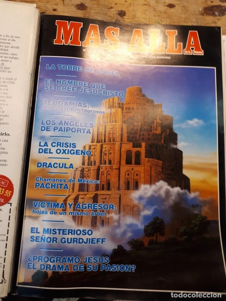 Coleccionismo de Revista Más Allá: Dos tomos Más Allá, 20 revistas - Foto 16 - 182838902
