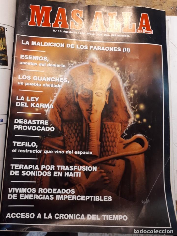 Coleccionismo de Revista Más Allá: Dos tomos Más Allá, 20 revistas - Foto 17 - 182838902