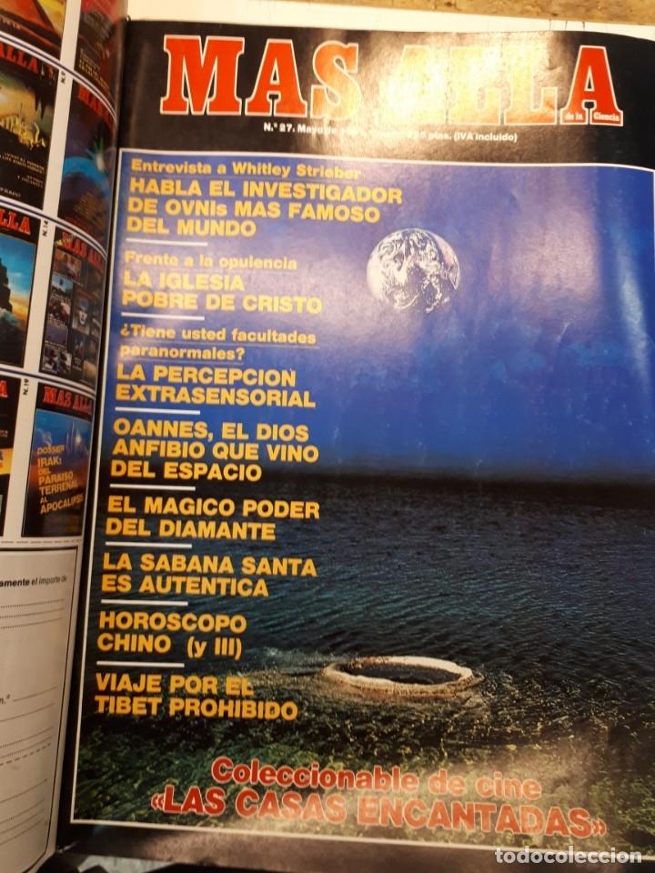 Coleccionismo de Revista Más Allá: Dos tomos Más Allá, 20 revistas - Foto 21 - 182838902