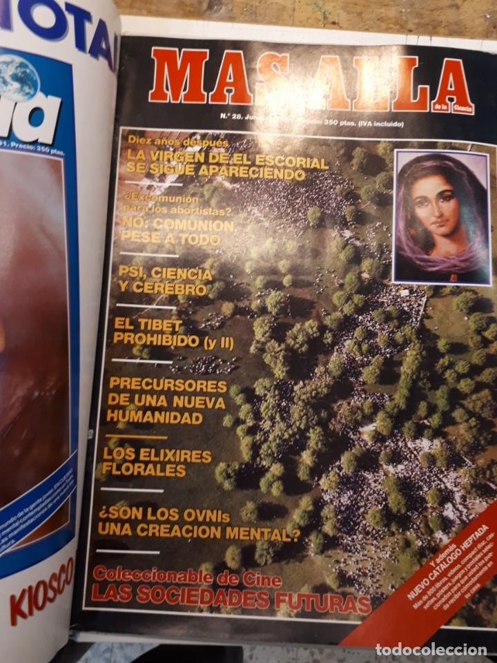 Coleccionismo de Revista Más Allá: Dos tomos Más Allá, 20 revistas - Foto 22 - 182838902