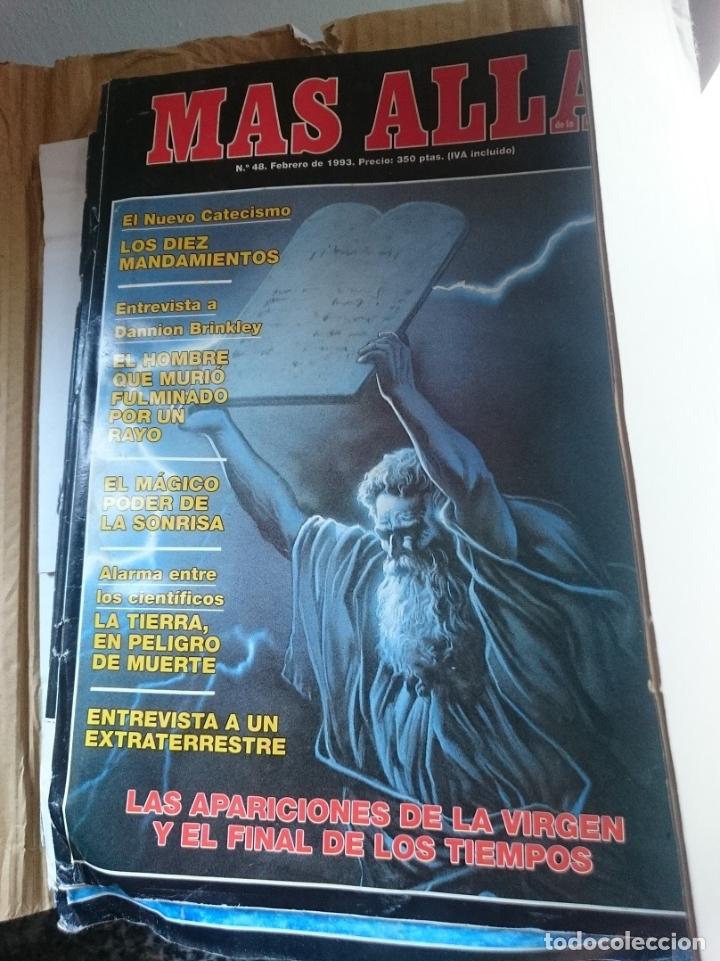 REVISTA MAS ALLA - N 48 FEBRERO 1993 ---MAL ESTADO - VER FOTOS (Coleccionismo - Revistas y Periódicos Modernos (a partir de 1.940) - Revista Más Allá)