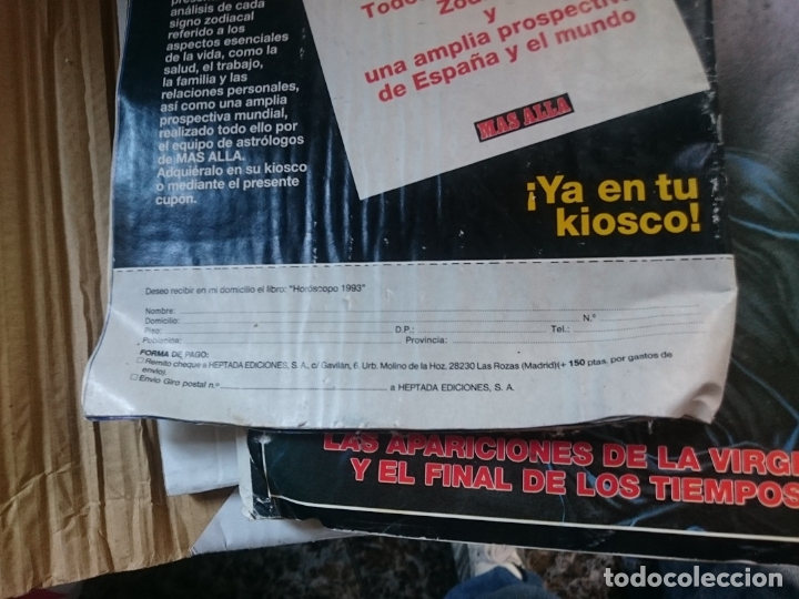 Coleccionismo de Revista Más Allá: REVISTA MAS ALLA - N 47 ENERO 1993 ---MAL ESTADO - VER FOTOS - Foto 2 - 183219051