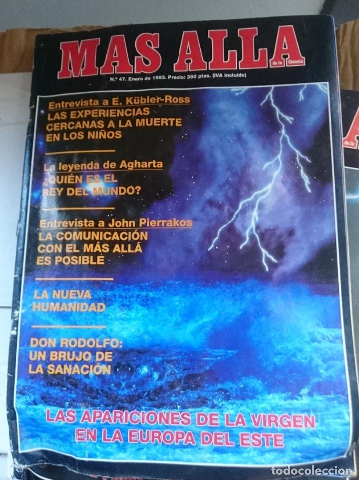 REVISTA MAS ALLA - N 47 ENERO 1993 ---MAL ESTADO - VER FOTOS (Coleccionismo - Revistas y Periódicos Modernos (a partir de 1.940) - Revista Más Allá)