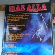Coleccionismo de Revista Más Allá: REVISTA MAS ALLA - N 47 ENERO 1993 ---MAL ESTADO - VER FOTOS. Lote 183219051