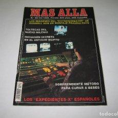 Coleccionismo de Revista Más Allá: MÁS ALLÁ - NÚM. 80 - EXPEDIENTES X ESPAÑOLES - ROSWELL - TULTECAS - EGIPTO - 1995. Lote 183889738