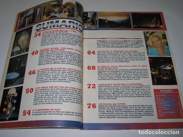 Coleccionismo de Revista Más Allá: MÁS ALLÁ - núm. 115 - EN BUSCA DE DIOS 1 parte de 2 - Lise Thouin - Ovnis - 1998 - Foto 2 - 183889778