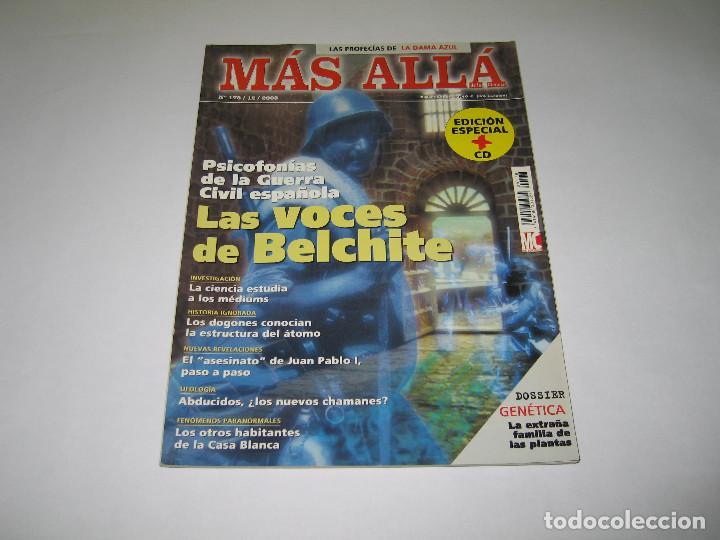MÁS ALLÁ - NÚM. 178 - LAS VOCES DE BELCHITE - 2003 (Coleccionismo - Revistas y Periódicos Modernos (a partir de 1.940) - Revista Más Allá)
