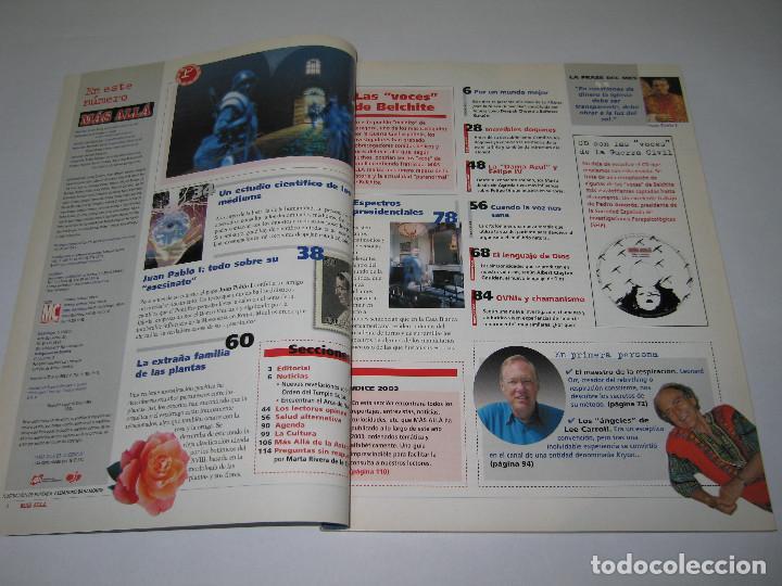 Coleccionismo de Revista Más Allá: MÁS ALLÁ - núm. 178 - LAS VOCES DE BELCHITE - 2003 - Foto 2 - 183891157