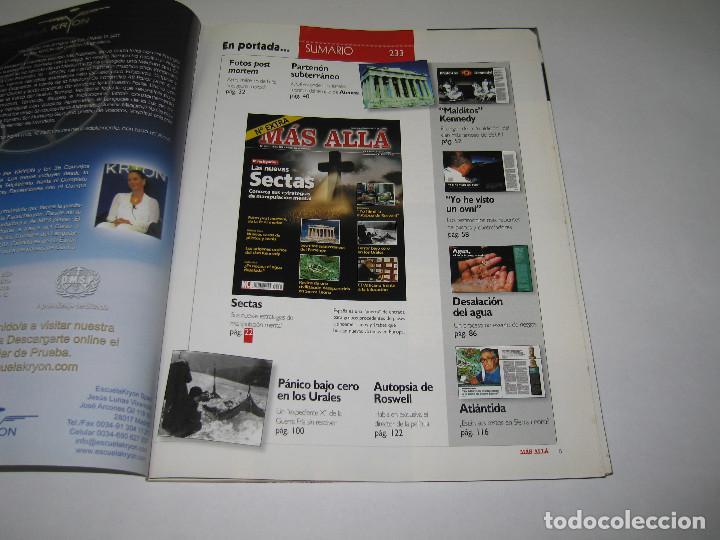 Coleccionismo de Revista Más Allá: MÁS ALLÁ - núm. 233 - NÚMERO EXTRA!! LAS NUEVAS SECTAS - 2008 - Foto 2 - 183891852