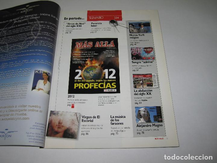 Coleccionismo de Revista Más Allá: MÁS ALLÁ - núm. 234 - 2012 El fin del mundo según las nuevas PROFECÍAS - 2008 - Foto 2 - 183892012