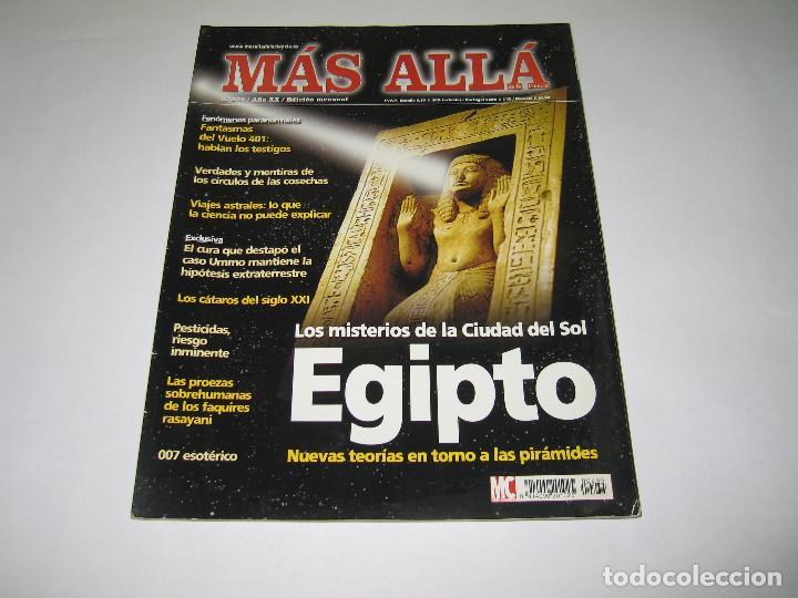 MÁS ALLÁ - NÚM. 235 - LOS MISTERIOS DE LA CIUDAD DEL SOL EGIPTO - 2008 (Coleccionismo - Revistas y Periódicos Modernos (a partir de 1.940) - Revista Más Allá)