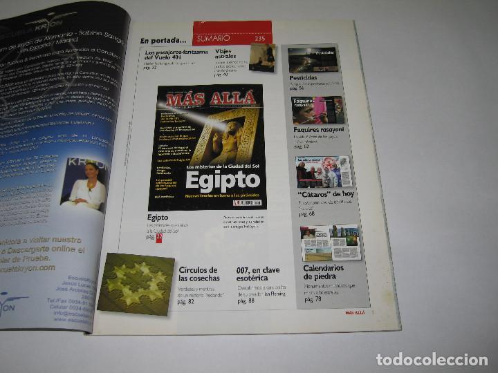 Coleccionismo de Revista Más Allá: MÁS ALLÁ - núm. 235 - Los misterios de la ciudad del Sol EGIPTO - 2008 - Foto 2 - 183892095
