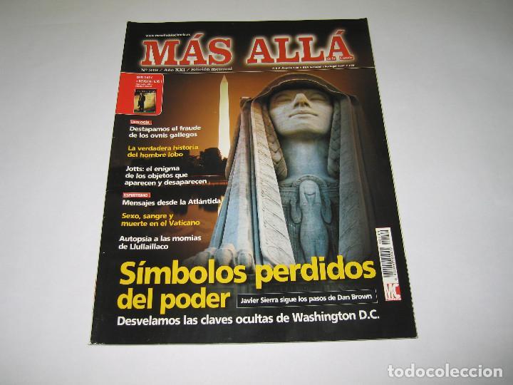 MÁS ALLÁ - NÚM. 249 - SÍMBOLOS PERDIDOS DEL PODER - 2009 (Coleccionismo - Revistas y Periódicos Modernos (a partir de 1.940) - Revista Más Allá)