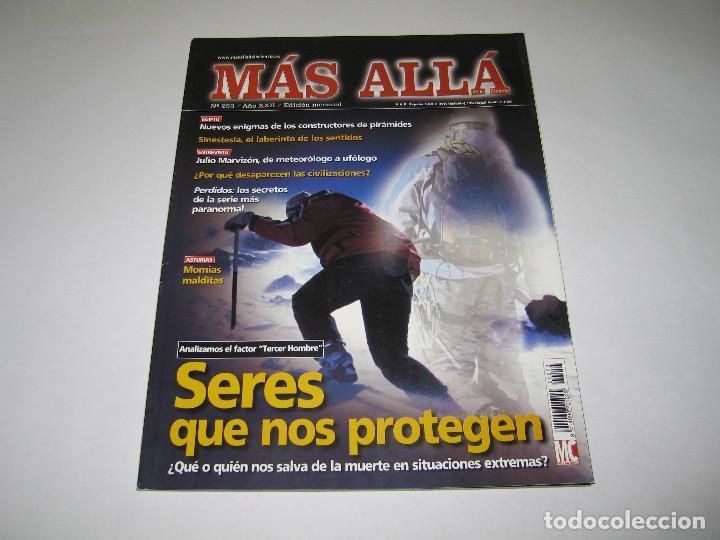 MÁS ALLÁ - NÚM. 253 - EL FACTOR (TERCER HOMBRE) SERES QUE NOS PROTEGEN - 2010 (Coleccionismo - Revistas y Periódicos Modernos (a partir de 1.940) - Revista Más Allá)