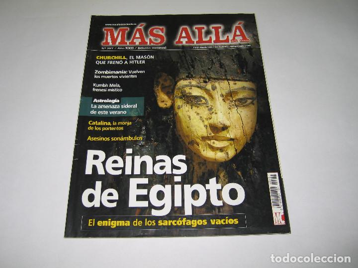 MÁS ALLÁ - NÚM. 257 - REINAS DE EGIPTO - CHURCHILL - ZOMBIMANÍA - 2010 (Coleccionismo - Revistas y Periódicos Modernos (a partir de 1.940) - Revista Más Allá)
