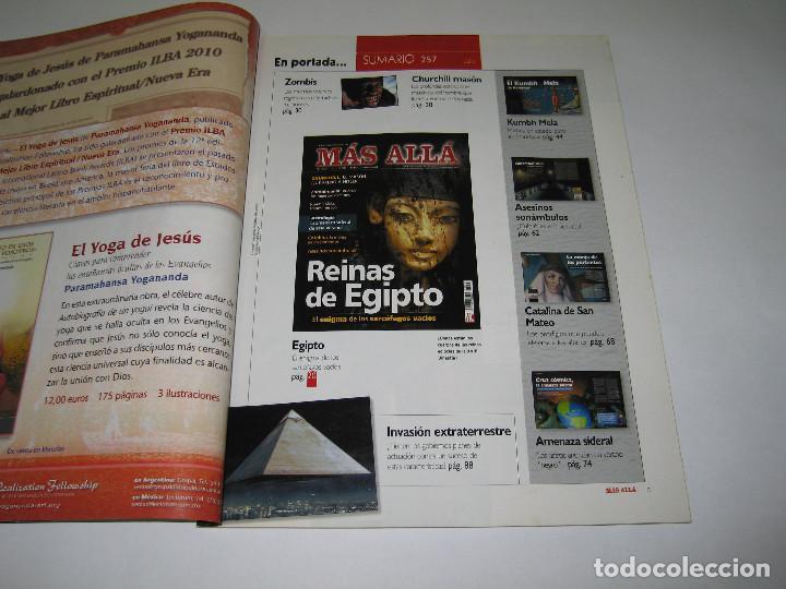 Coleccionismo de Revista Más Allá: MÁS ALLÁ - núm. 257 - REINAS DE EGIPTO - CHURCHILL - ZOMBIMANÍA - 2010 - Foto 2 - 183892507