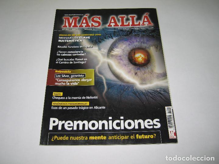 MÁS ALLÁ - NÚM. 261 - PREMONICIONES - MENSAJES EN CLAVE - 2010 (Coleccionismo - Revistas y Periódicos Modernos (a partir de 1.940) - Revista Más Allá)