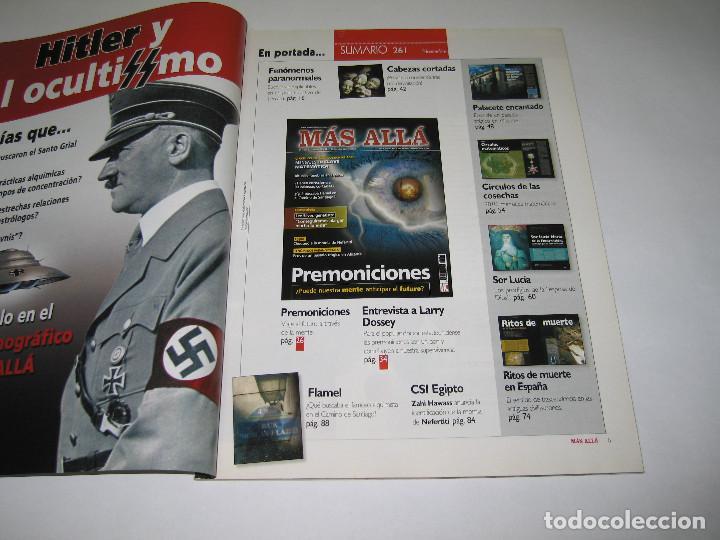 Coleccionismo de Revista Más Allá: MÁS ALLÁ - núm. 261 - PREMONICIONES - MENSAJES EN CLAVE - 2010 - Foto 2 - 183892562