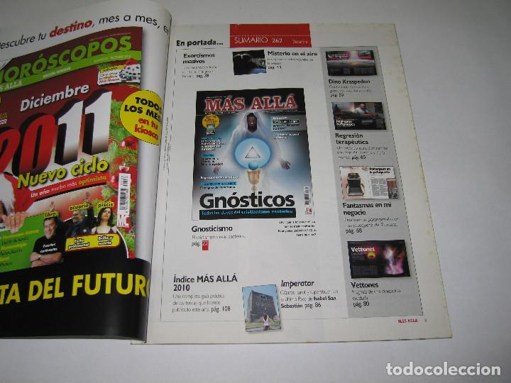 Coleccionismo de Revista Más Allá: MÁS ALLÁ - núm. 262 - GNÓSTICOS - Vettones - Exorcismos - 2010 - Foto 2 - 183892600