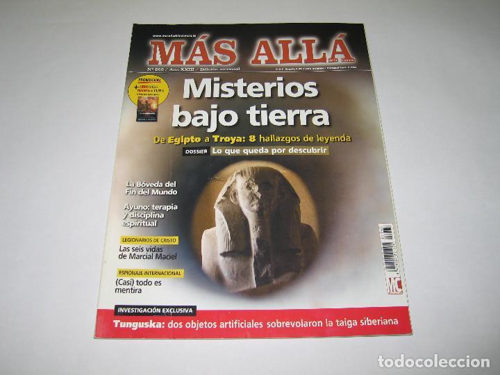 MÁS ALLÁ - NÚM. 263 - MISTERIOS BAJO TIERRA DE EGIPTO A TROYA - 2011 (Coleccionismo - Revistas y Periódicos Modernos (a partir de 1.940) - Revista Más Allá)