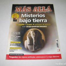 Coleccionismo de Revista Más Allá: MÁS ALLÁ - NÚM. 263 - MISTERIOS BAJO TIERRA DE EGIPTO A TROYA - 2011. Lote 183892650